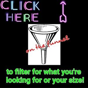 Filter Your Size Style or Type of Clothing on APP
